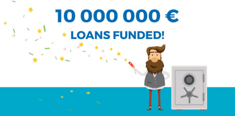 VIAINVEST Reaches Milestone of 10 Million EUR Loans Funded Through its Platform