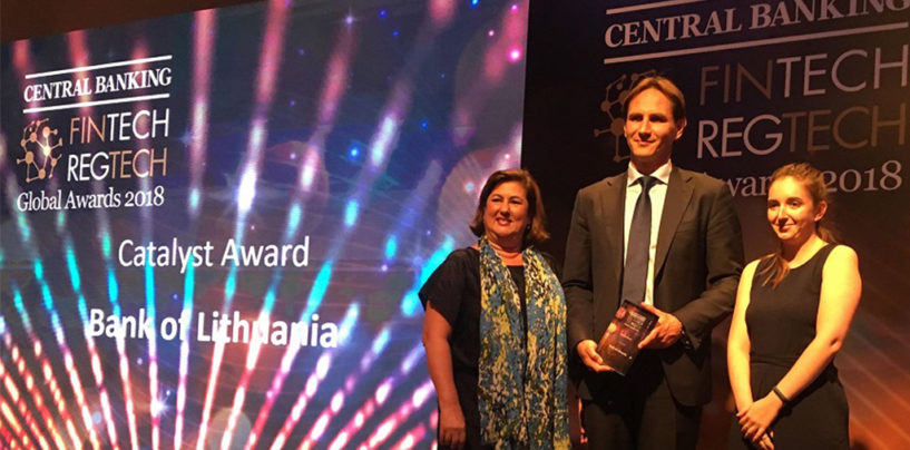 Bank of Lithuania – Winner of Central Banking's First Catalyst Award