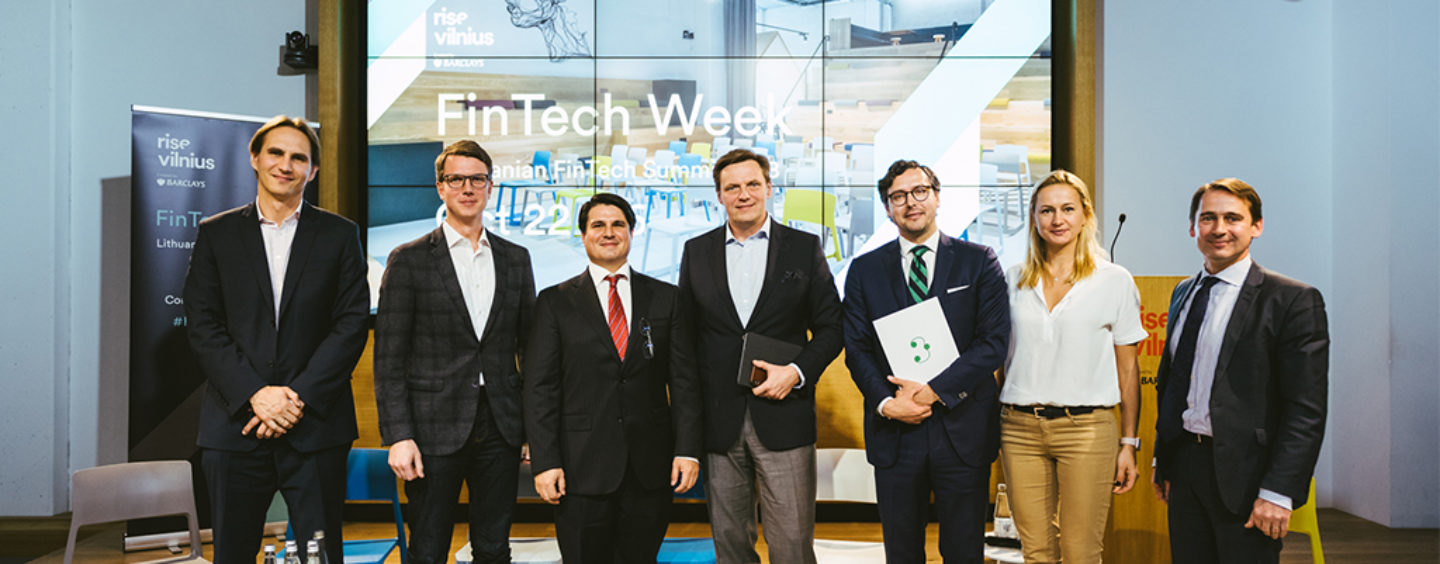FinTech Week Vilnius: From Future Payments to Blockchain Revolution