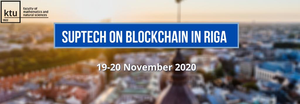 SupTech on Blockchain in Riga