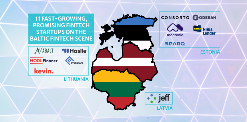 2020 Baltic Startup Scene Report Names 11 Fast-Growing, Promising Fintech Startups
