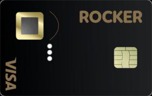 Prototype of Rocker's fingerprint ID debit card.