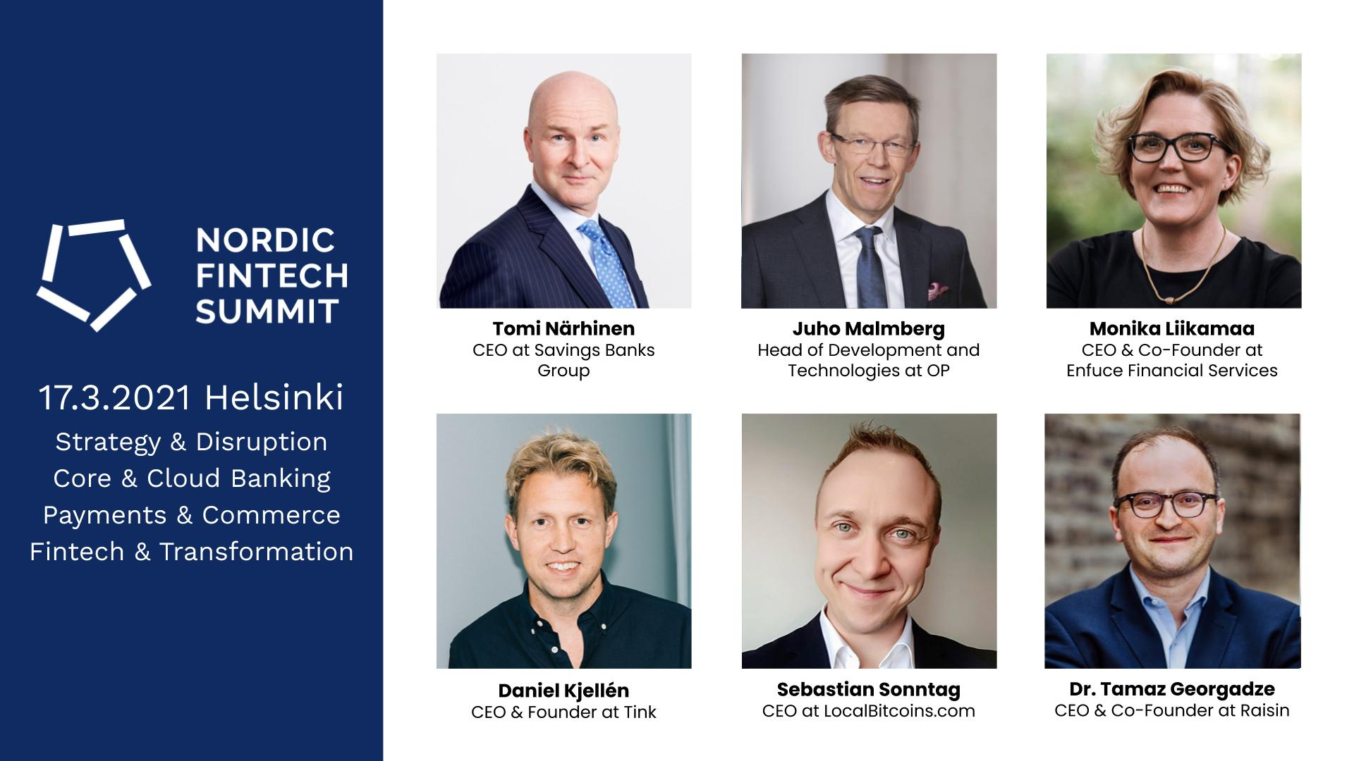 nordic fintech summit 2021